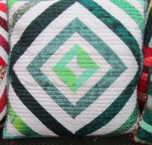 Pillows green