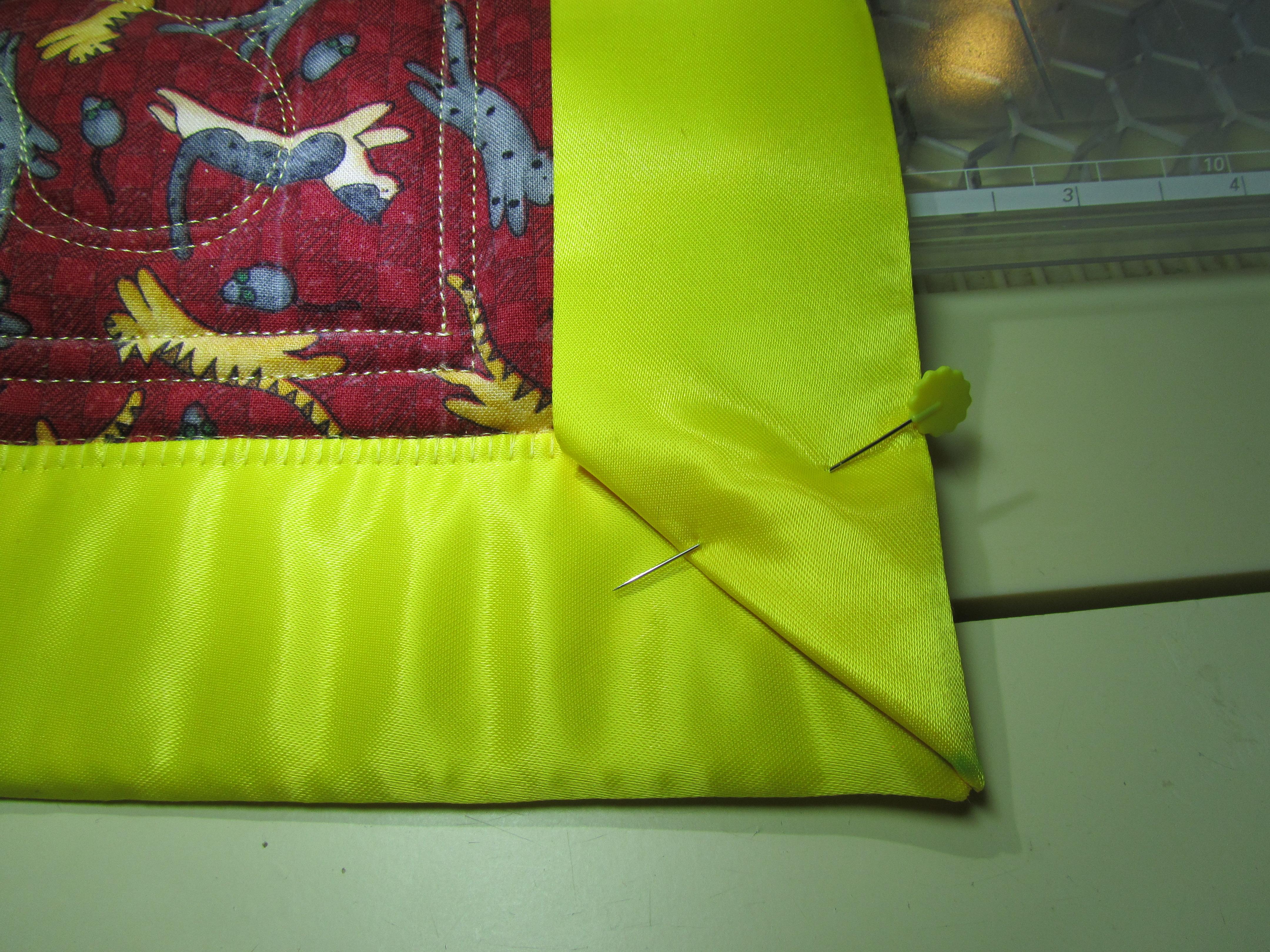 Blanket Binding Tutorial | Evening in the Garden Quilts : putting binding on a quilt - Adamdwight.com